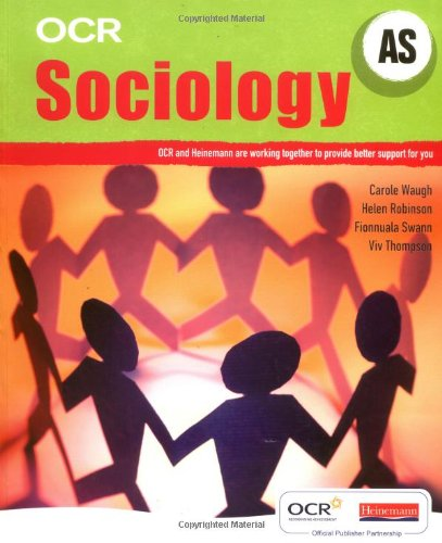OCR AS Sociology Student Book (OCR GCE Sociology)