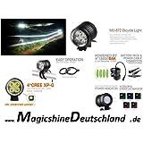 Magicshine MJ 872R - 1600 Lumen, incl. LG LI-ION Akku MJ 6102, 7.8 Ah und Helmset