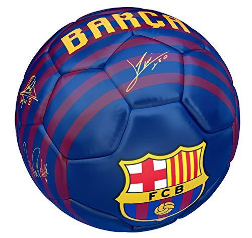 JOSMA SPORT - Balón Mediano F.C. Barcelona 1º Equipación 18/19 Blaugrana