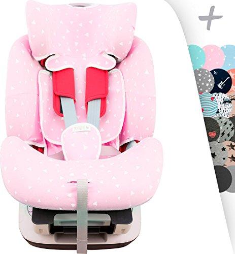 Copertura per chicco Seat Up 0, 1, 2 e Chicco YOUniverse Janabebe (Pink Sparkles)