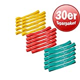 Dittmann Rubberband 30er Set 3 Widerstände Training Functional Kraft Workout