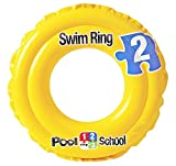 #7: Pool School Step 2 Inflatable Baby Float Swimming Ring Swimming Pool Toys for 3 to 6 Years Kids Children (51cm or 20 Inch)