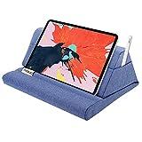 MoKo Cuscino Supporto per Tablet, Cuscino Comodo Supporto Compatibile con Nuovo iPad 10.2' 2019 / iPad Air 3 / Mini 5 / iPad PRO 11/10.5/9.7, Galaxy Tab Fino a 11 Pollici - Blu