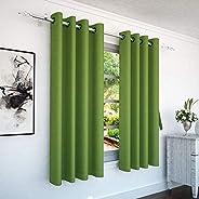 Story at Home Window Curtain, Green, 118cm X 152cm, Wnr4037