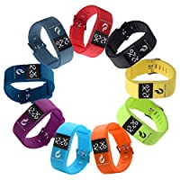 Fansport Sport Watch Fashion Adjustable Soft LED Digital Watch Wrist Watch for Men, Women and Child