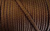 5 m Baumwollkordel 5 mm braun