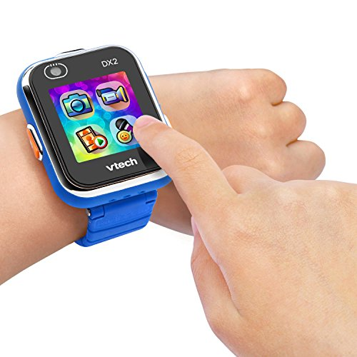 Vtech 80-193804 Kidizoom Smart Watch DX2 blau Smartwatch für Kinder Kindersmartwatch, Mehrfarbig - 4