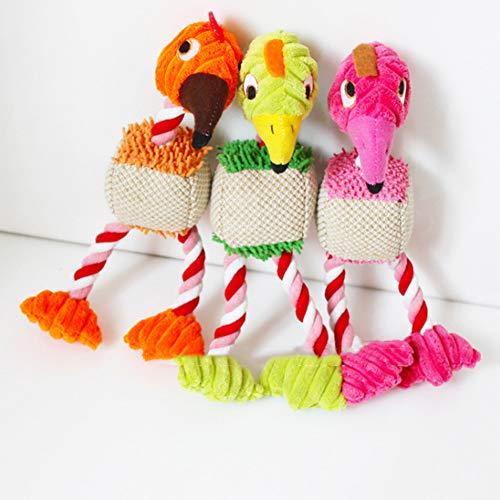 Huhuswwbin Sounder-Spielzeug, Plüsch-Spielzeug, Cartoon-Vogel, Welpen, Plüschtier, mit Quietschelement, zufällige Farbe Sounder-box