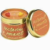 Bomb Cosmetics Duftkerze mit reinen ätherischen Ölen NECTARINE & AMARETTO Dosenkerze