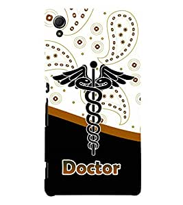 Doctor is God 3D Hard Polycarbonate Designer Back Case Cover for Sony Xperia Z4 :: Sony Xperia Z4 E6553