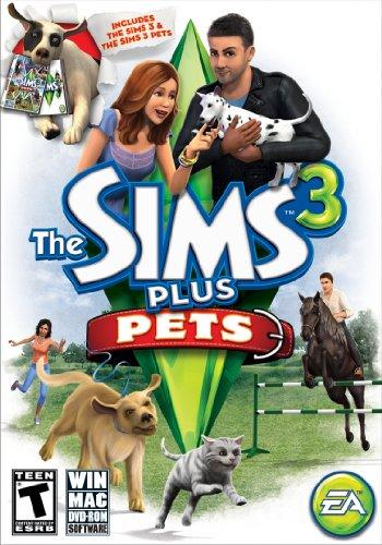Preisvergleich Produktbild The Sims 3 Plus Pets - PC / Mac by Electronic Arts