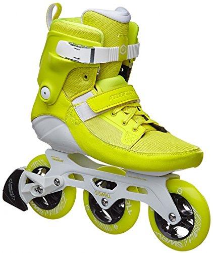 Powerslide Swell 110 Fitness Inline Skates gelb yellow flash, 37