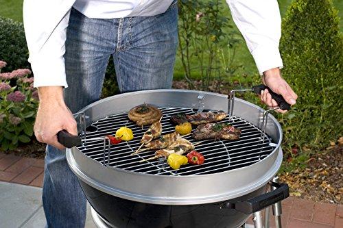 landmann 31341 black pearl comfort quality 48cm kettle barbecue rattan furniture shop uk. Black Bedroom Furniture Sets. Home Design Ideas