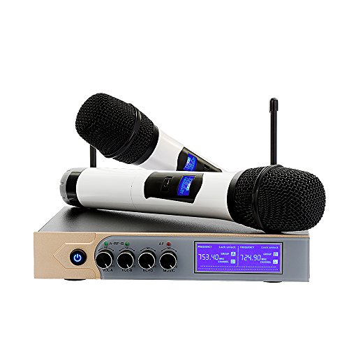 Microphone sans Fil UHF Micro sans Fil...
