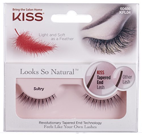 Kiss Products Looks So Natural Lashes, Sultry, 0.03 Pounds (Pack of 3) by Kiss Products
