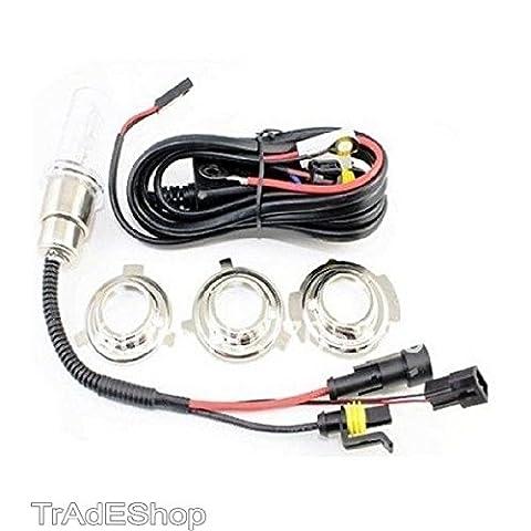 Trade-Shop Xénon HID KIT moteur Moto intégration 6-3 H Lampe Xénon 35w-8022044085531 cachée