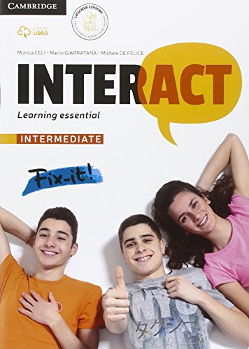 Interact intermediate: learning essential. Quaderno BES e DSA. Per le Scuole superiori. Con e-book. Con espansione online