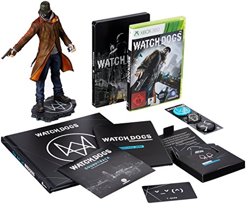 Watch Dogs - DEDSEC_Edition (exklusiv bei Amazon.de) - [Xbox 360] (Video-spiele 360-watch Xbox Dogs)