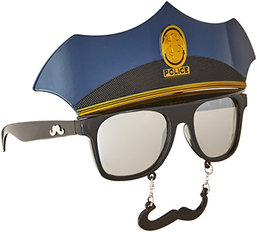 Police Mustache Glasses ()