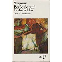 Boule De Suif La Maison Tellier (Folio) (French Edition) by Guy De Maupassant (1977-01-01)
