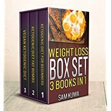 Weight Loss Recipes Box Set of 3 Cookbooks in 1: 200+ Smart, Healthy Eating Recipes of Ketogenic, Vegan and Fat Bomb Diet Plans (Lose Your Belly Fat through ... for Healthy Weight Loss) (English Edition)