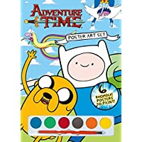 Anker Adventure Time Poster Art Set, Plastic, Multi-Colour, A4 Size