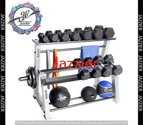 Jazzier Multi Weight Storage Rack (Without Dumbbells, Kettlebell, Gym Ball, and Much More) WR-02