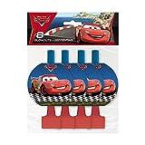 Cars - Inviti per festa, motivo Cars 2, Disney Pixar, 8 per confezione