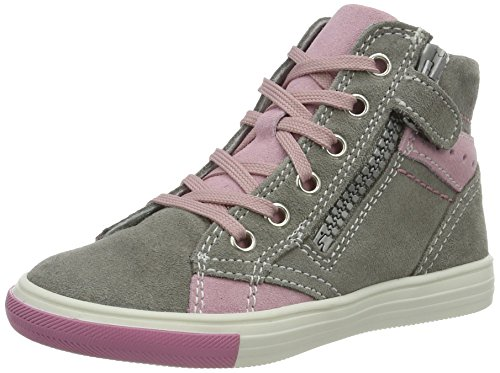 Richter Kinderschuhe Mädchen Fedora High-Top, Grau (Rock/Powder), 29 EU -