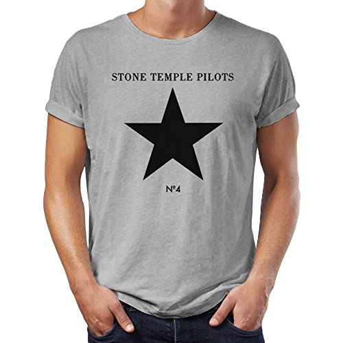 Stone Temple Pilots Herren T-Shirt Gr. Medium, grau