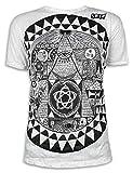 SURE Herren T-Shirt Pyramide All-sehendes Auge Größe M L XL Illuminati Freimaurer Neue Weltordnung Psy