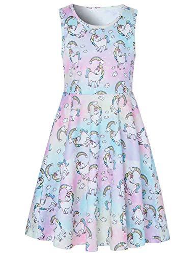 Funnycokid Aermellos Prinzessin Maedchen Elegantes Kleid mit Bilder Dessert Design klassisches 9 Dessert