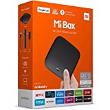 Xiaomi Mi PFJ4061EU - TV Box compatible con vídeo HDR (control remoto de voz Bluetooth, Android TV 6.0, decodificación 4K a 60 fps, sonido DTS y Dolby) negro