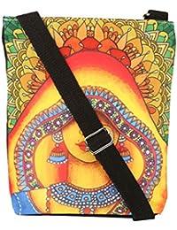 All Things Sundar Womens Sling Bag / Cross Body Bag - S06 - 25