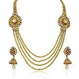 Atasi International Gold Line Necklace S...