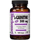 Bluebonnet Nutrition, L-Carnitine, 500 mg, 100 Licaps