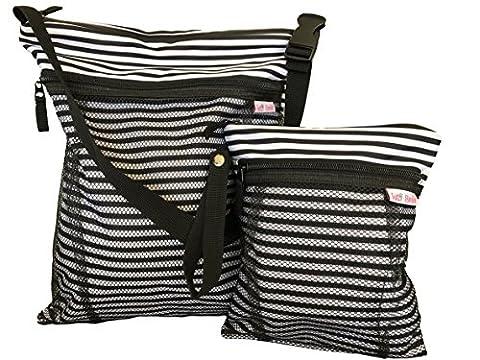 Tutti Bimbi Travel Wet und Dry Bag–DUO PACK groß und