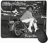 Whitney Houston Je suis votre tapis de souris de jeu pour ordinateur (9,85 x 11,8 pouces), tapis de souris de bureau antidérapant avec surpiqûres, tapis de souris de jeu pour la maison Anime petit