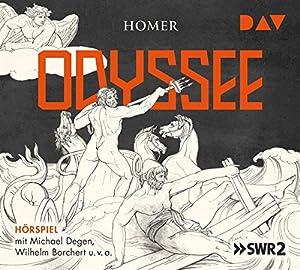 Odyssee: Hörspiel mit Michael Degen, Wilhelm Borchert u.v.a. (4 CDs)