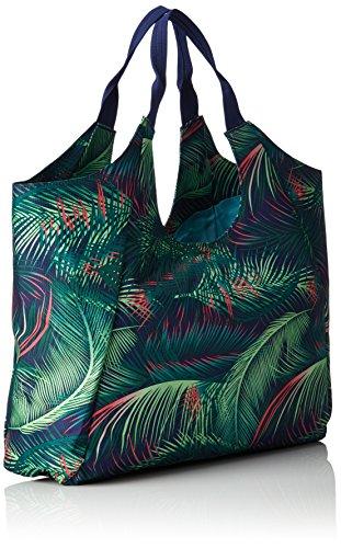 Chiemsee - Beachbag, Borsa a tracolla Donna Mehrfarbig (Palmsprings)