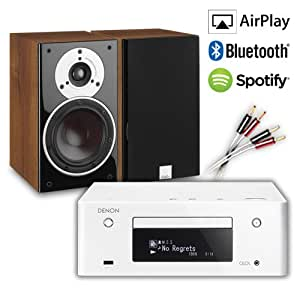 Creative Audio CA-MS38-WW Micro Stereo System (Denon RCD-N9 CEOL White + DALI ZENSOR 1 Walnut + £60 QED cable bundle). 2 Year Guarantee + Free next working day delivery (most mainland UK addresses)!
