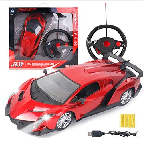 LIUSHIWEINBL Kindersimulation Modellauto Spielzeug Lenkrad Schwerkraft Induktion