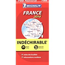 Carte indéchirable France 2014 Michelin