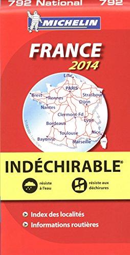 Mapa National. Francia Alta Resistencia (Mapas National Michelin)