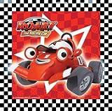 Roary the racing car napkins / serviettes - 16 roary the racing car paper napkins / serviettes