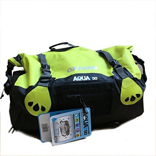 Motorrad Satteltaschen Touring: Oxford Aqua 50Liter Tasche Motorrad Wasserdicht, Taschen Koffer für Motorrad
