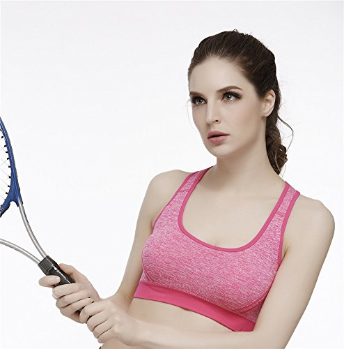 YeeHoo Crosstrainer Criss-Cross Supporto posteriore No Bra. Rosa