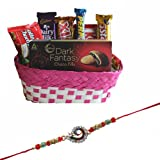 #8: Rakhi With Chocolates For Brother