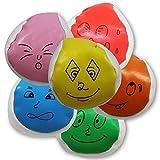 """8 x HC-Handel 911337 Catchball Jonglierball """"Gesicht"""" 5,5 cm"""