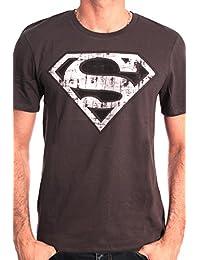 Superman Herren, T-Shirt, Superman Logo Metal